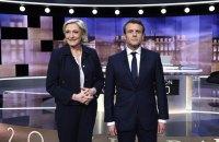 У Франції стартував другий тур президентських виборів