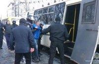 Поліція затримала сімох учасників акції під Кабміном