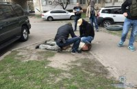 В Киеве задержали россиянина за торговлю оружием