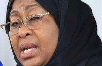Президентом Танзании впервые стала женщина
