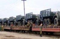 Штаб АТО: в Дебальцево переправили 40 вагонов с боевиками и бронетехникой