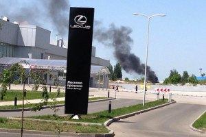 Авіація обстріляла терористів в аеропорту Донецька