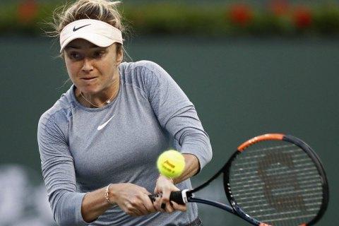 Свитолина вышла в полуфинал Мастерса в Индиан-Уэллсе
