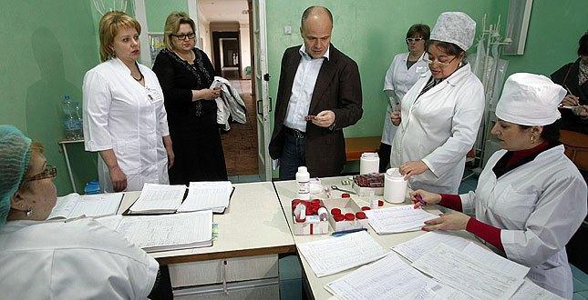 Михаил Радуцкий - владелец частной клиники Борис - в прошлом году был назначен заместителем Кличко по вопросам здравоохранения