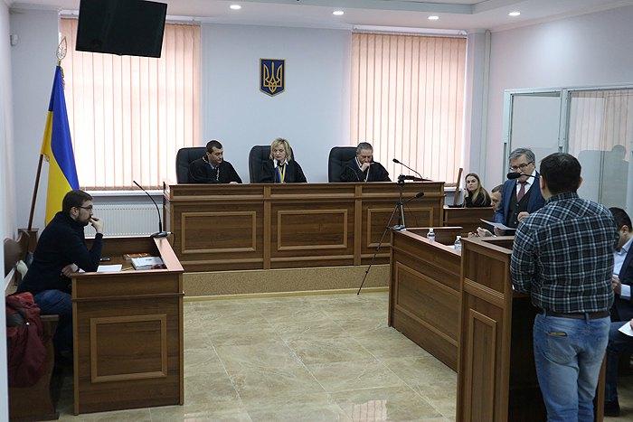 Допит Анджея Климчука, який є потерпілим і заявником у справі Гречківського, 23 лютого, 2018.