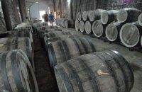 Украина сократила выпуск вина и коньяка