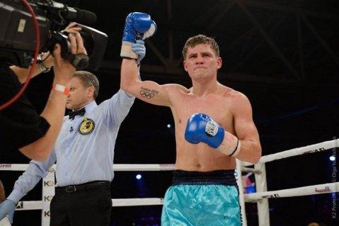 Денис Беринчик выиграл второй бой на профи-ринге