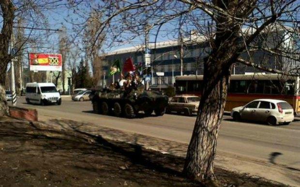 БТР в Саратове