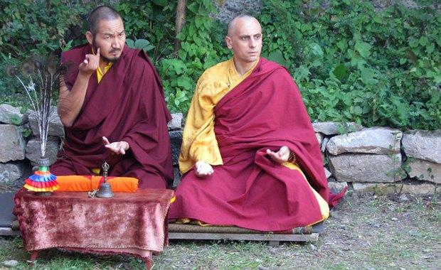 Дорже Жамбо-лама в монастыре Шейчен-линг