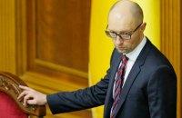 Яценюк возложил ответственность за нестабильность в стране на Порошенко и коалицию