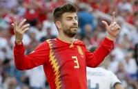 Піке завершив кар'єру в збірній Іспанії