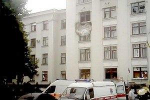 Місія ОБСЄ в Україні: в Луганську ОДА влучила авіаракета