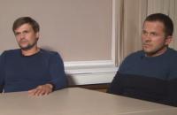 Британське МЗС визнало брехливим інтерв'ю підозрюваних в отруєнні Скрипалів