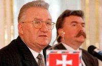 Умер первый президент Словакии Михал Ковач