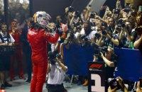"""Феттель впервые в сезоне выиграл гонку """"Формулы-1"""""""