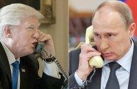 Путин поблагодарил Трампа за помощь в предотвращении терактов в России
