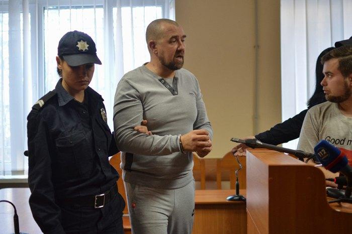 Сергій Торбін під час засідання суду
