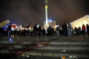 Милиция задержала активиста налогового Майдана за порчу плитки