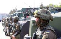 В Одессе бойцы Нацгвардии провели смотр на Куликовом поле