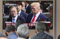 Трамп першим з американських президентів пройшов на територію КНДР (оновлено)