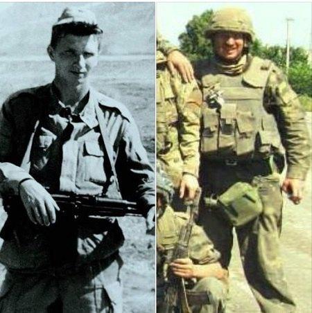 учасник війни в Афганістані Андрій Мамалига