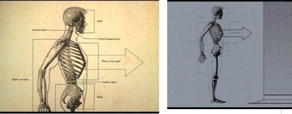 Кадры из фильмов Donnie Darko (2001, слева) и The Box (2009, справа)