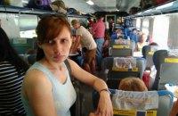 """Частині пасажирів поїзда Одеса - Київ довелося їхати стоячи через полом """"Тарпана"""""""