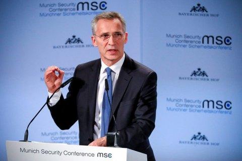 Столтенберг нагадав Москві та Мінську про необхідність поважати суверенні права білорусів