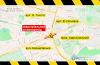 У Києві з 27 лютого почнеться ремонт Індустріального мосту