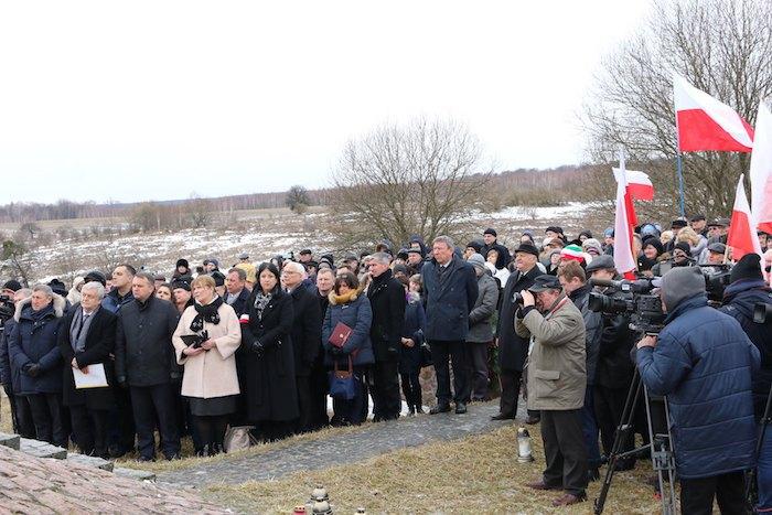 26 лютого 2017 р. Вшанування пам'яті загиблих під час Другої світової війни поляків