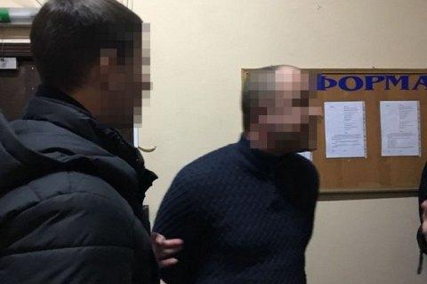 В Харьковской области госисполнитель задержан при получении $4 тыс. взятки
