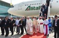Папа Римський приїхав до М'янми з апостольським візитом