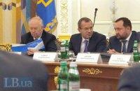 На засідання фракції ПР прийшли Арбузов і Клюєв