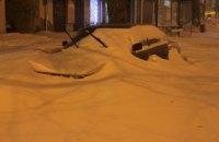 Одесити рятують одне одного з-під снігових завалів
