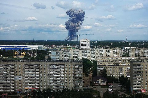 Від вибуху в російському Дзержинську вибило вікна у майже 100 школах і дитсадках
