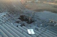 Боевики обстреляли жилые кварталы Марьинки из минометов