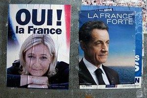 Саркози агитирует националистов голосовать за него
