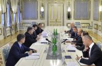 Порошенко встретился с главой ЕБРР