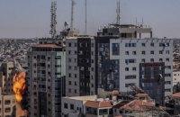 Израиль нанес удар по зданию с офисами СМИ в секторе Газа