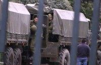 В Ялту приехали вооруженные российские военные