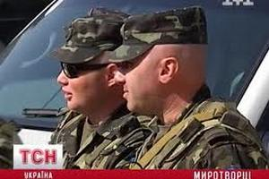 Украинским миротворцам разрешили выполнять боевые задачи