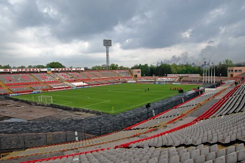 """Дніпропетровська облрада виділила 67,7 млн гривень на реконструкцію стадіону """"Металург"""" у Кривому Розі"""