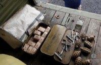 В Днепропетровской области задержали КаМАЗ с гранатами и патронами