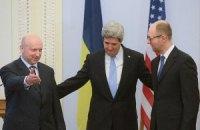 Керри обсудил предстоящую встречу с Лавровым и Яценюком