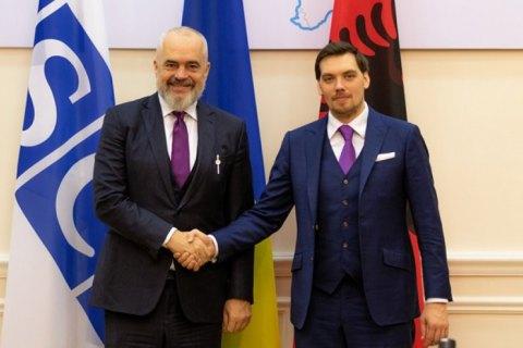 Украина и Албания намерены договориться о зоне свободной торговли