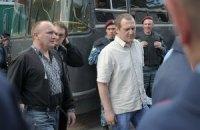 Милиция отпустила задержанных