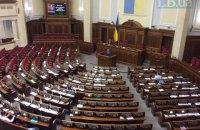 К окончанию заседания в Раде осталось не более 10 нардепов
