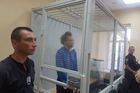 Суд заарештував без права застави чоловіка, який жорстоко вбив 9-річного хлопчика в Києві