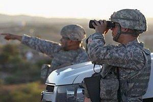 Для охраны границы с Мексикой США оставят 300 гвардейцев