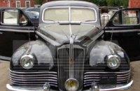 У одесского бизнесмена Тарпана в Москве угнали лимузин, на котором ездил Сталин